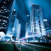 Город ночью [живые обои для Android]