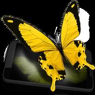 Бабочки 3D — Живые обои