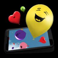 Воздушные шарики 3D — живые обои